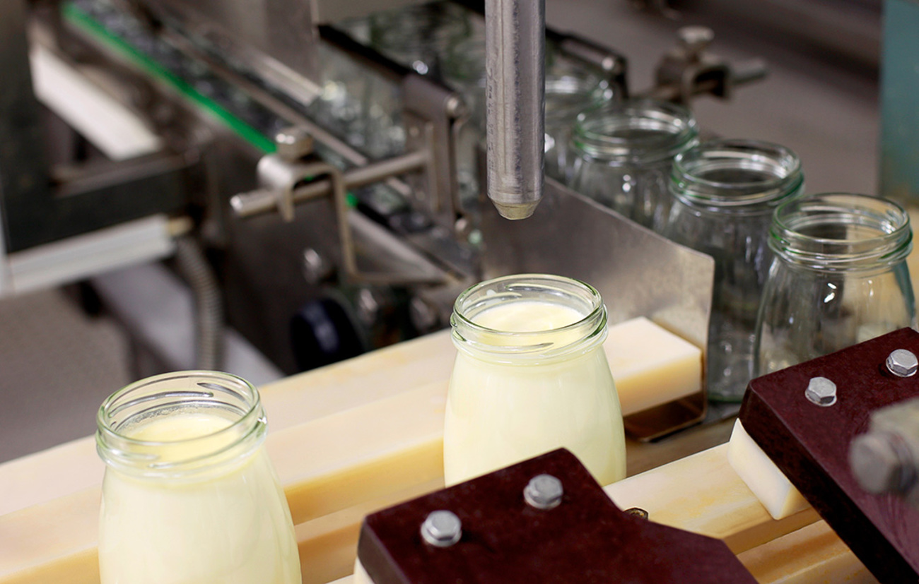 Food and Pharma - Downtime reduction - Dairy cooperative